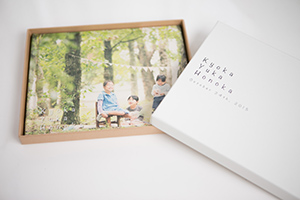 写真集「ノスタルジ」生成りハードタイプ