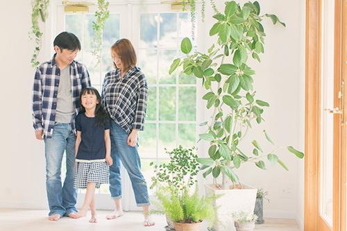 入学記念 家族写真