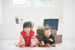 1歳男児袴